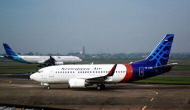Sriwijaya 737-500