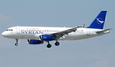 Syrain Air A320Syrain Air A320
