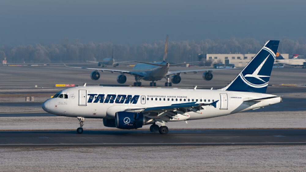 Tarom A318-100