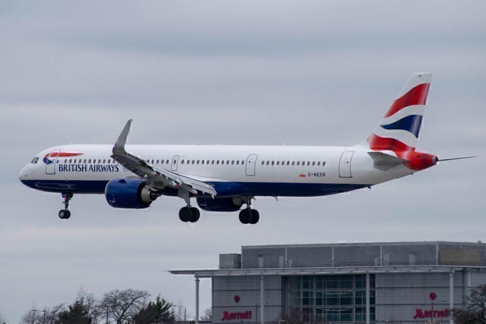 A321 British Airways