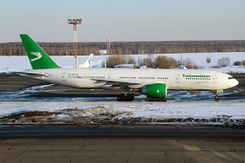 Turkmenistan Airlines 777
