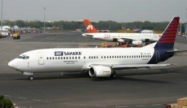 Air Sahara 737