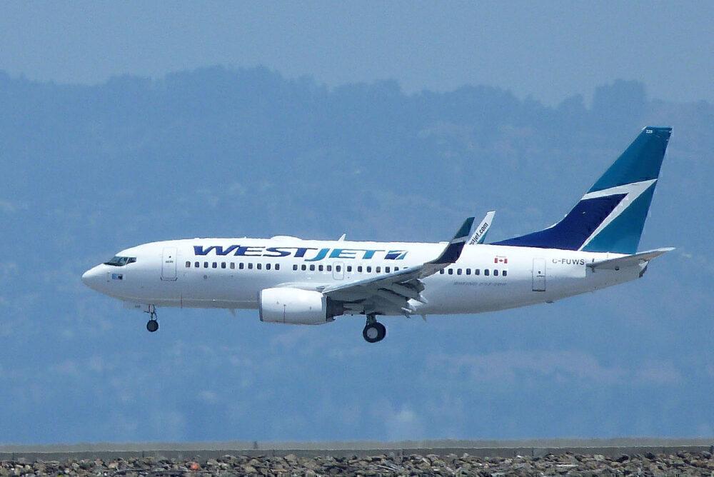 737-700 westjet
