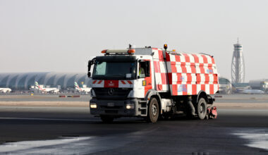Runway surface cleaning