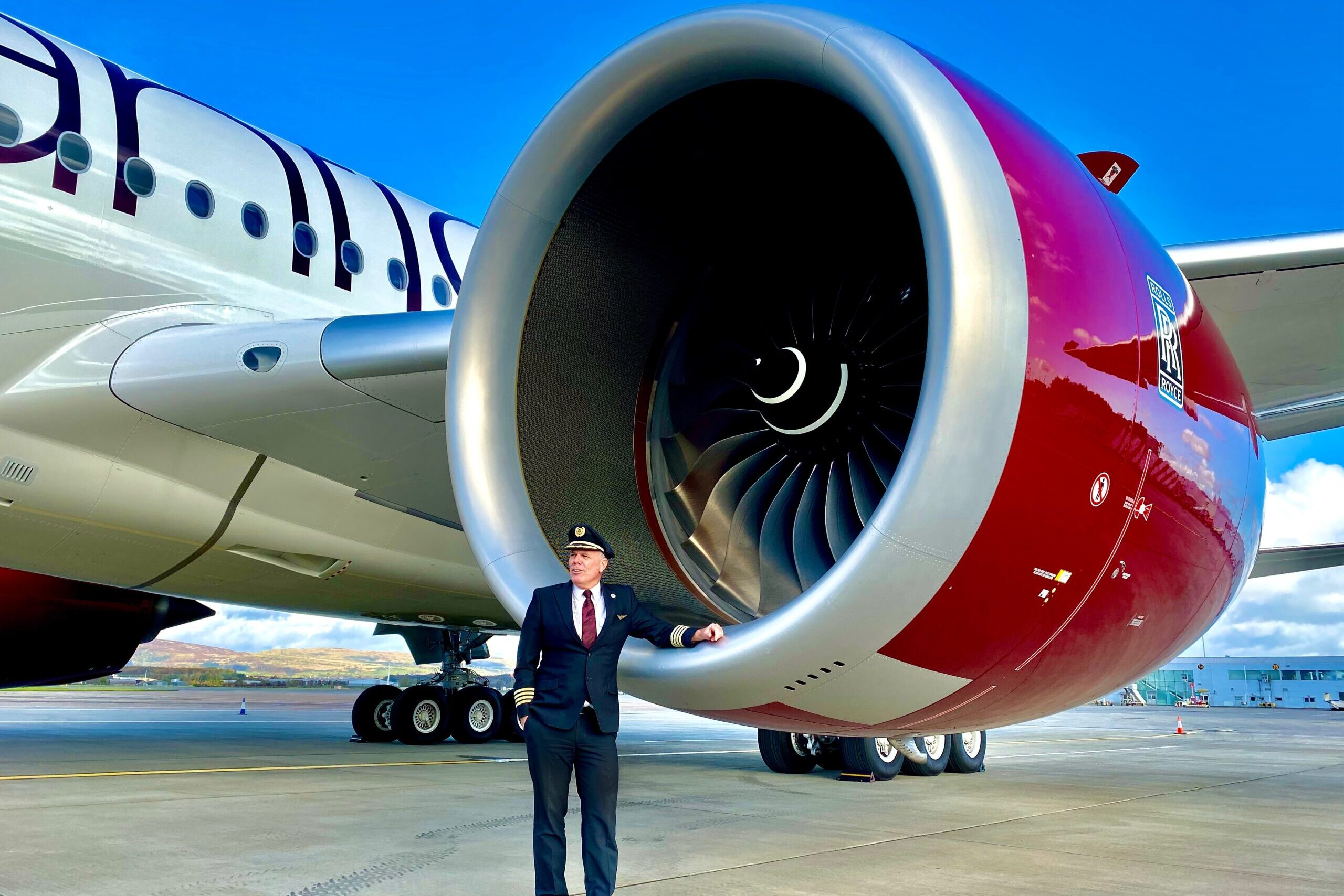 Captain Chris, Virgin Atlantic, Airbus A350 Pilot
