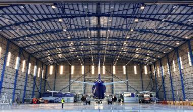 Hi Fly Mesa Beja hangar