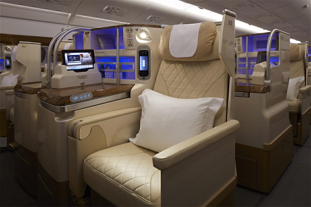 Emirates A380 J