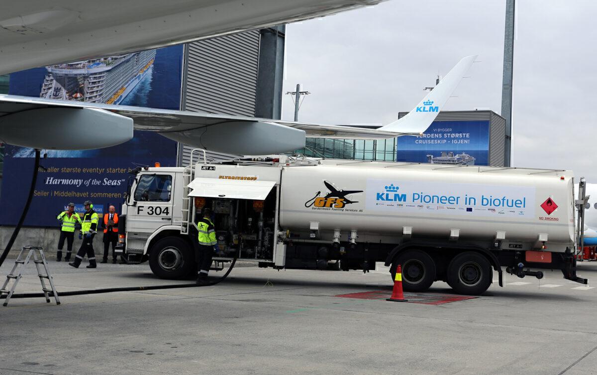 KLM bio-fuel