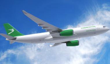 Turkmenistan Airlines A330