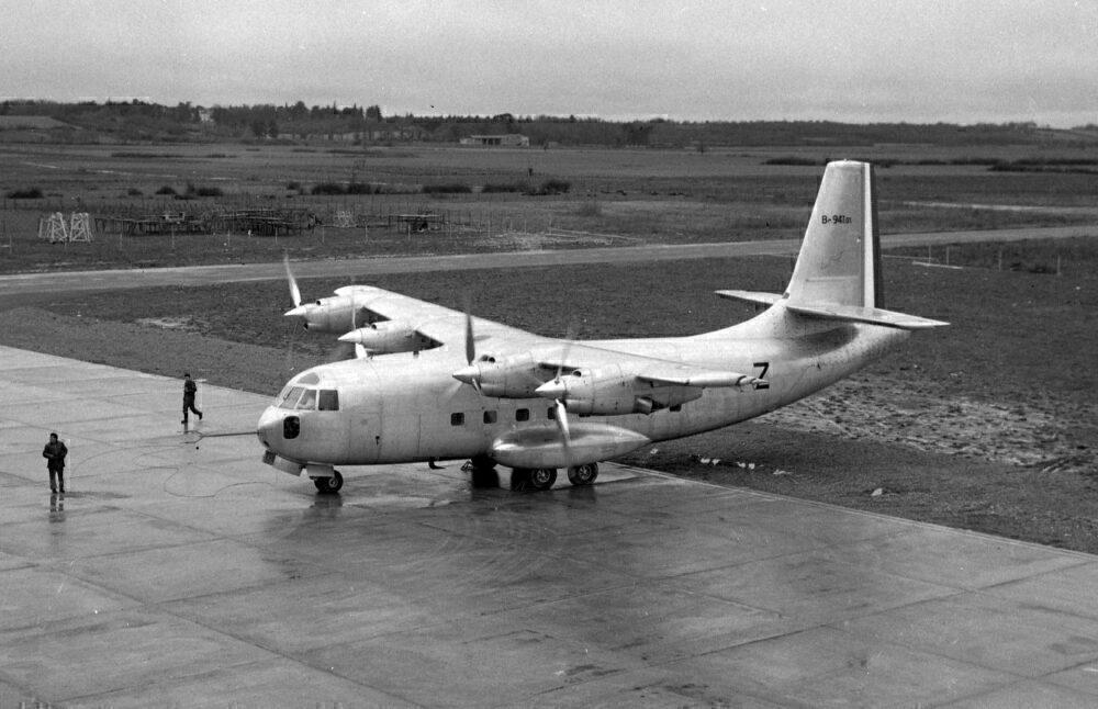 Le Bréguet 941 Aircraft