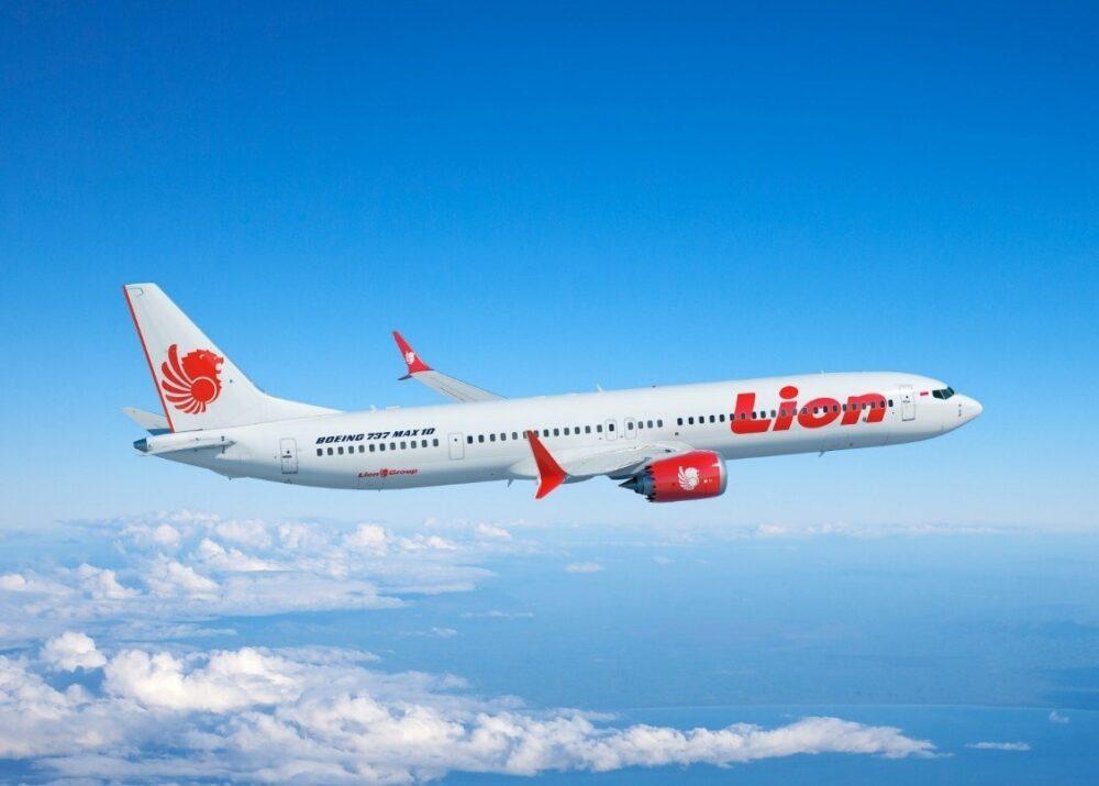 Lion Air MAX 10
