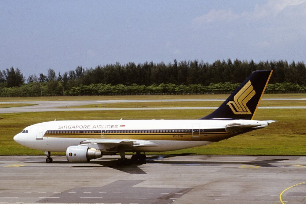 Singapore Airlines Airbus A310