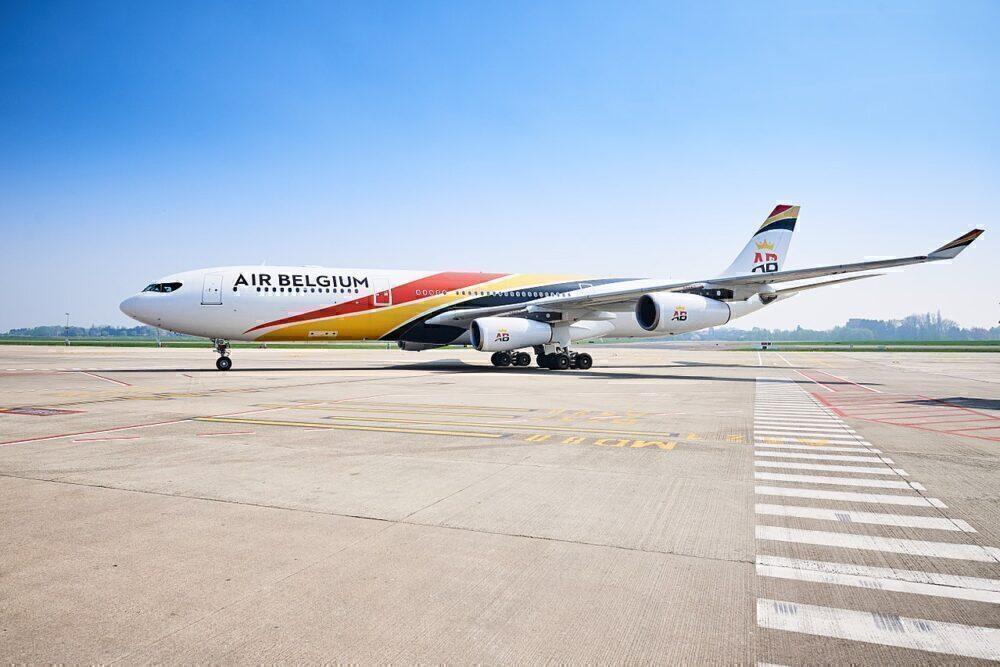 A340 Belgique
