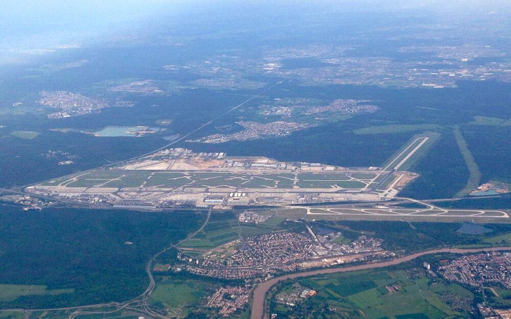 Frankfurt Airport Aerial