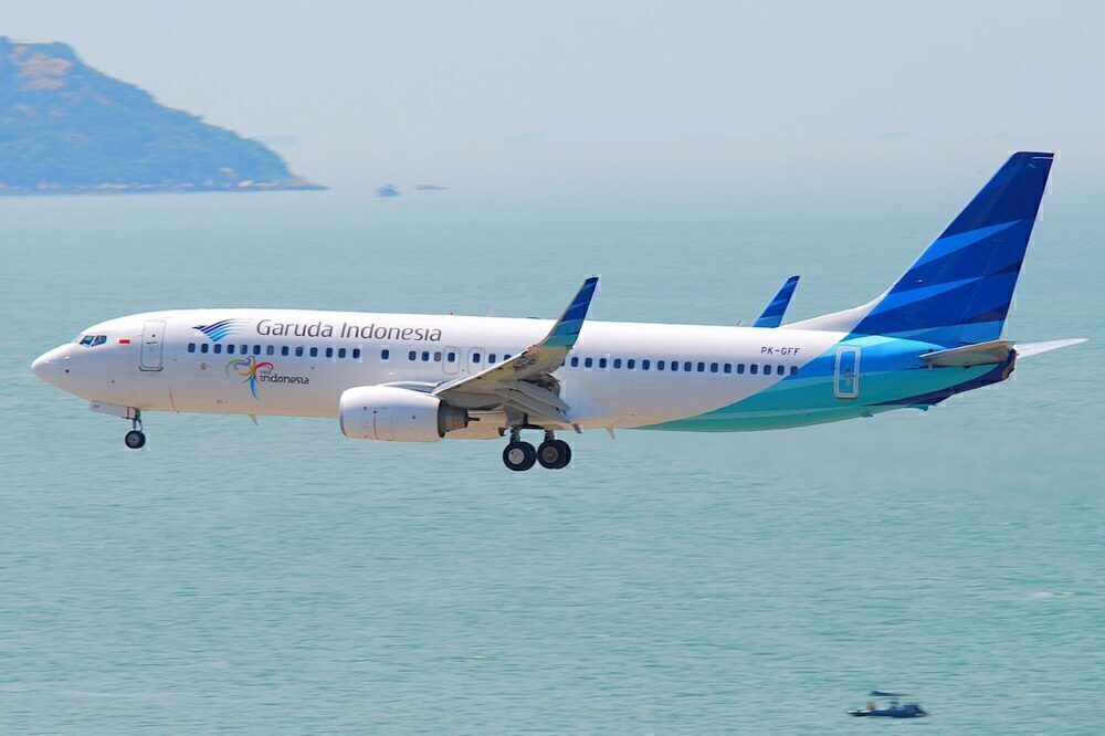 PK-GFF 737 Garuda