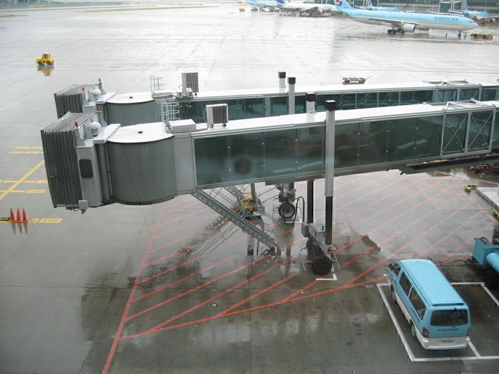 Double jet bridge