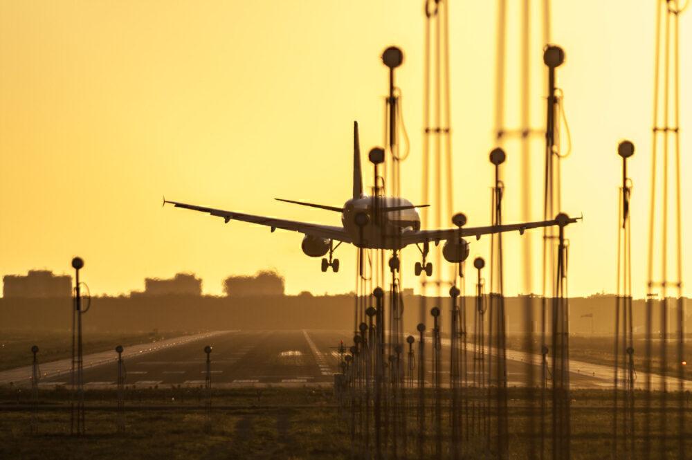 Airbus A320 Crosswind Mallorca