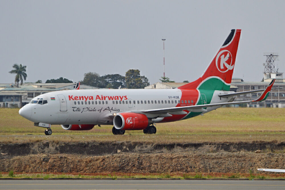 Kenya Airways 737