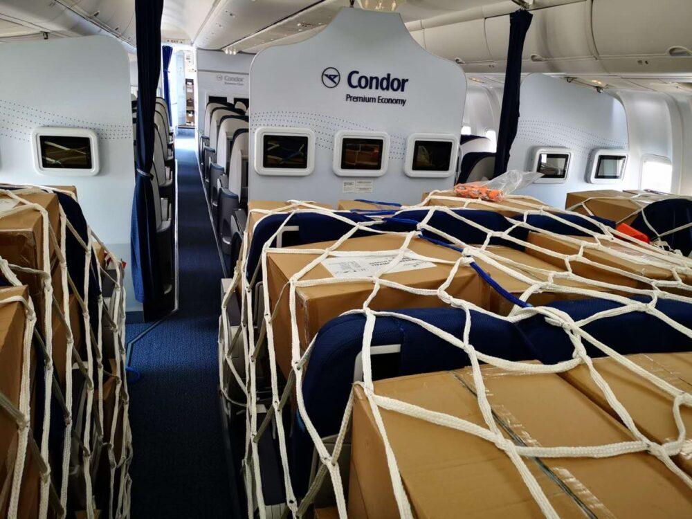 Condor Cargo Interior