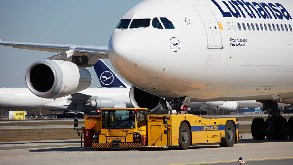 Lufthansa, Airbus A340, Repaint