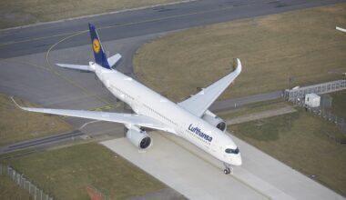 Lufthansa, First A350-900, Repaint