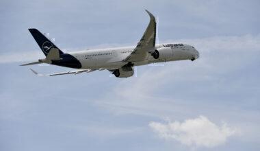 Lufthansa, Longest Flight, Falkland Islands