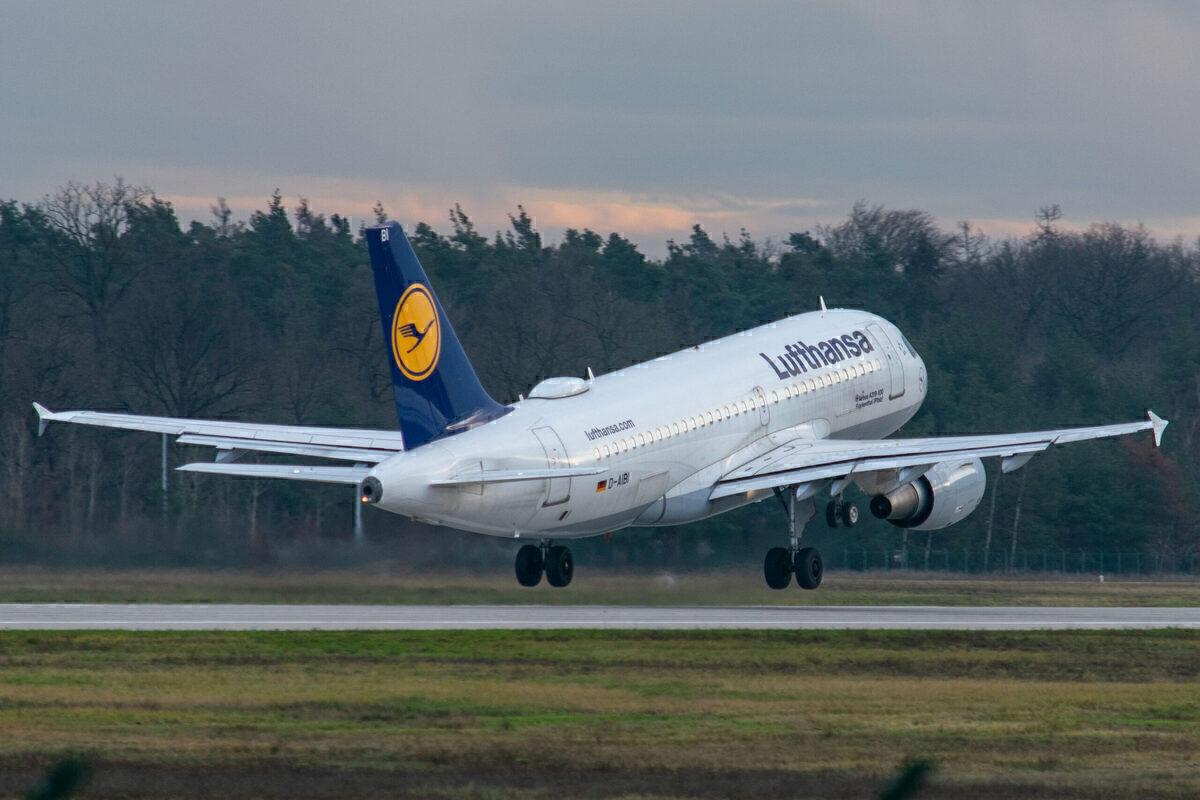 Frankfurt Airport, Runway Closed, Low Traffic