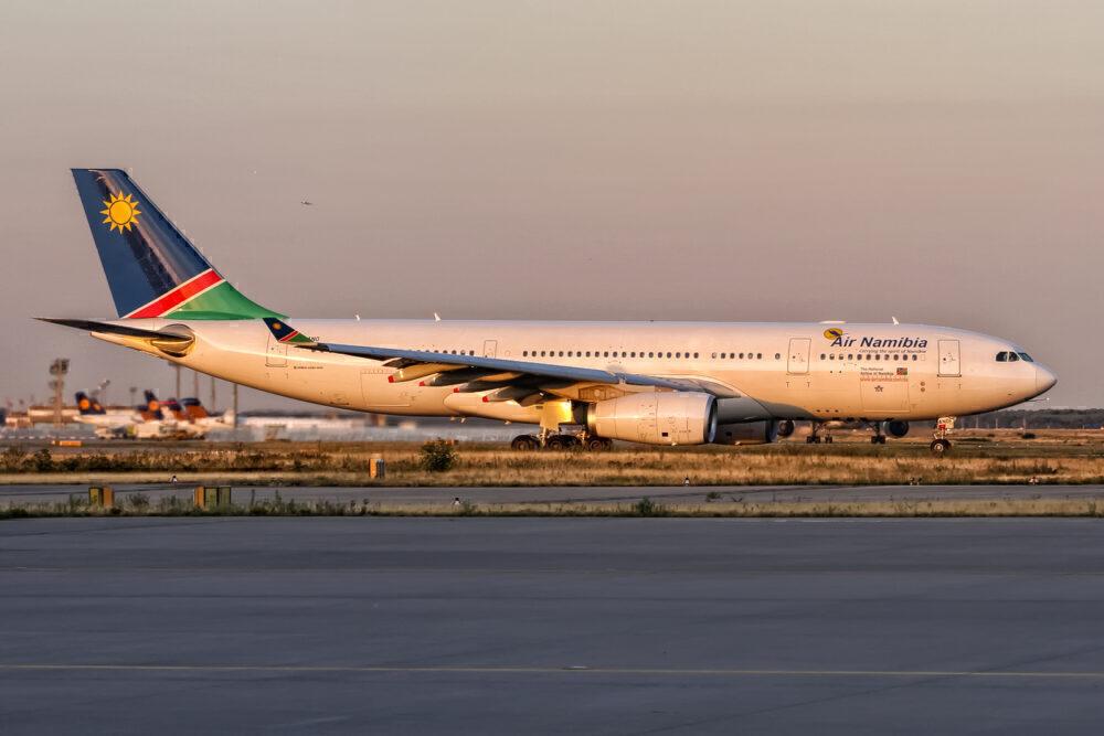 Air Namibia Airbus A330 Frankfurt