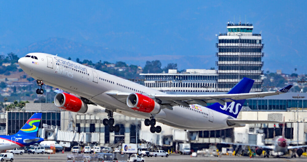 Scandinavian Airlines SAS Airbus A330 Los Angeles