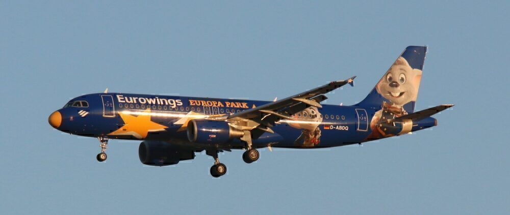 Eurowings Airbus A320 Europa Park