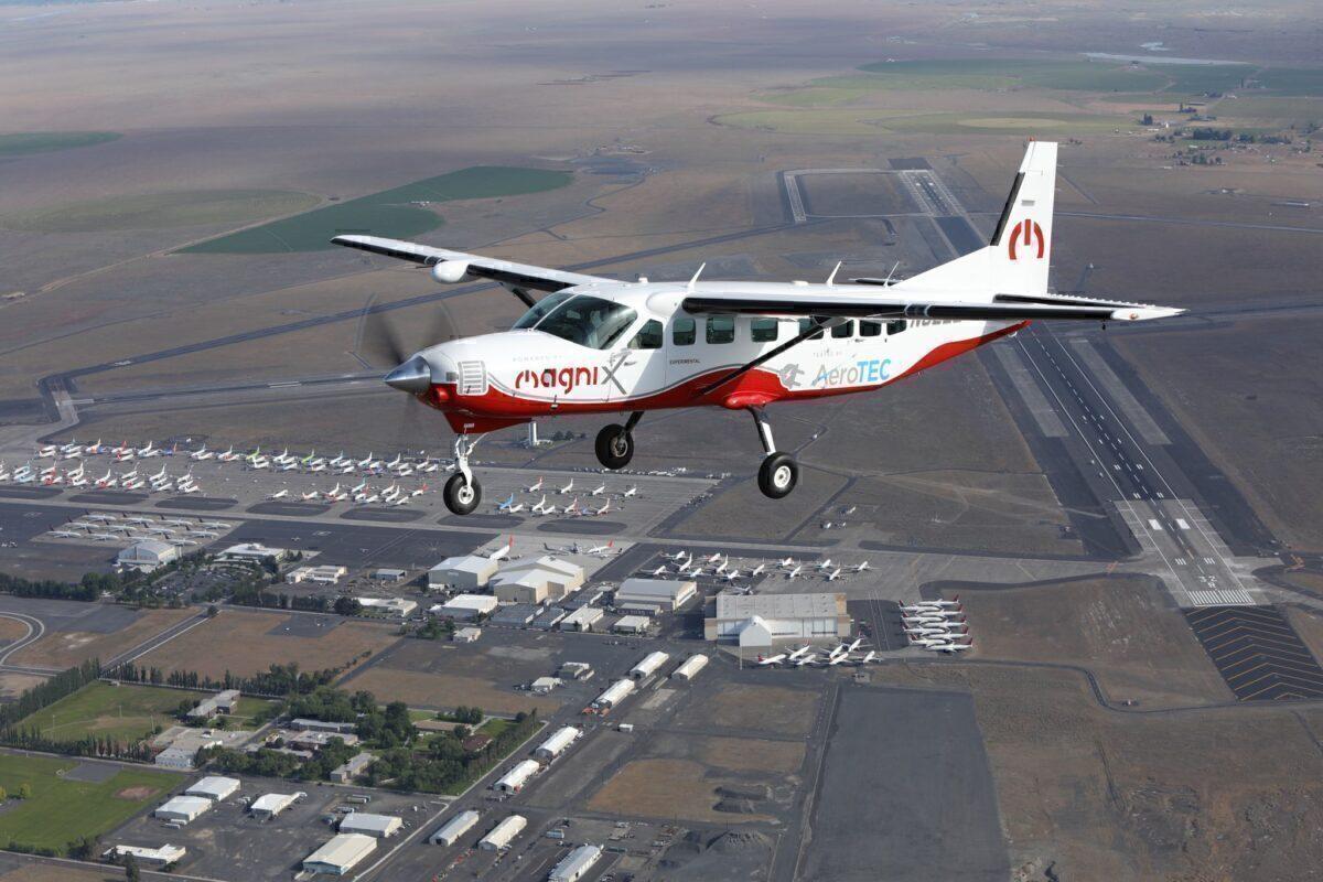 A 208B Cessna Grand Caravan
