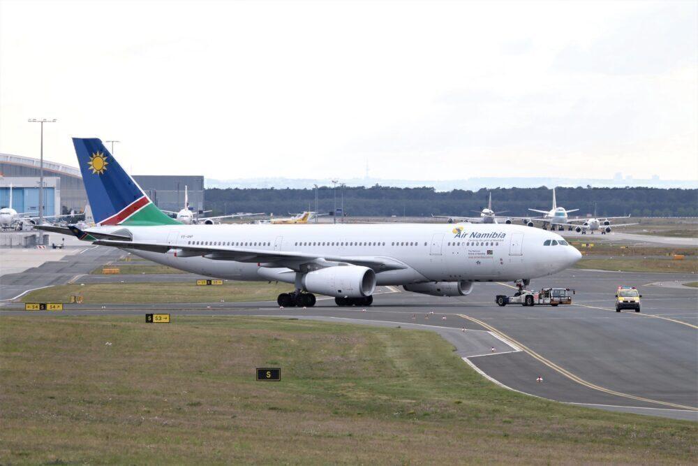 Air Namibia Airbus A330 Frankfurt 2