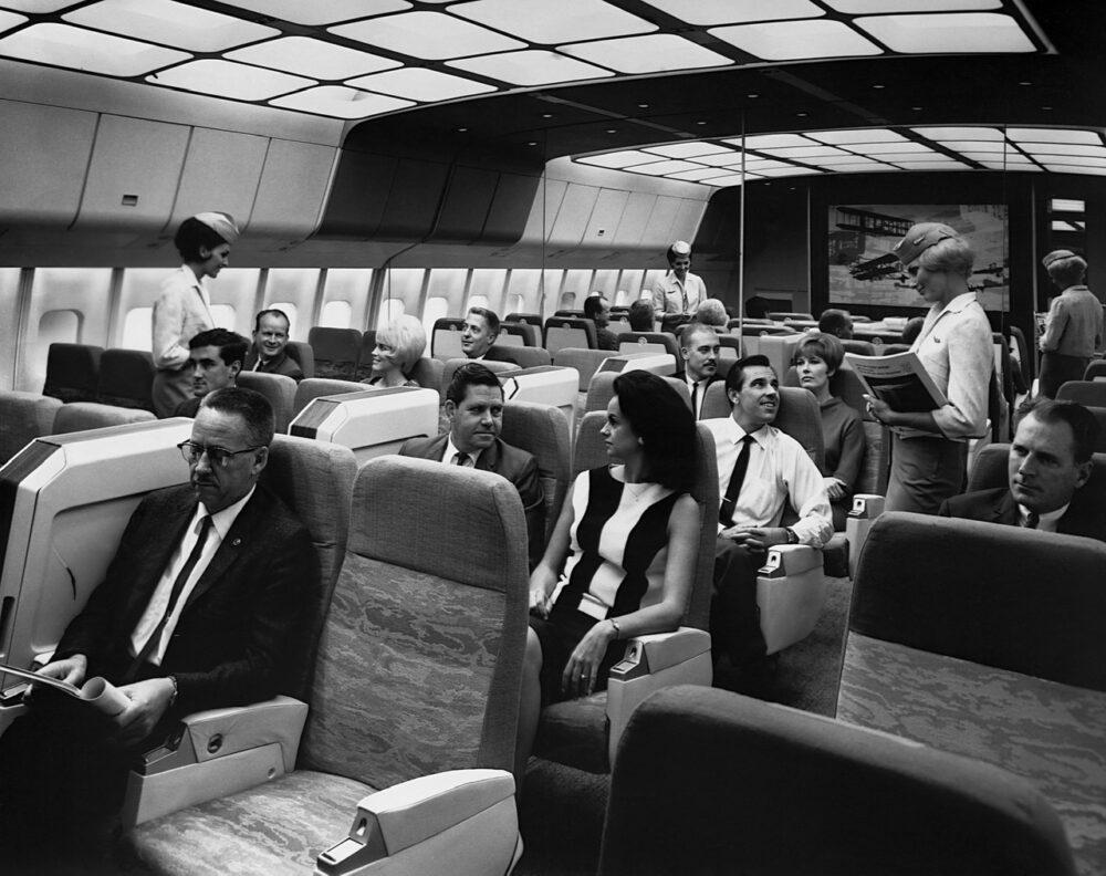 Lockheed L-1011 TriStar Mockup Interior
