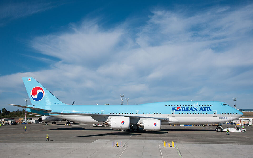 Korean Air 747-8I