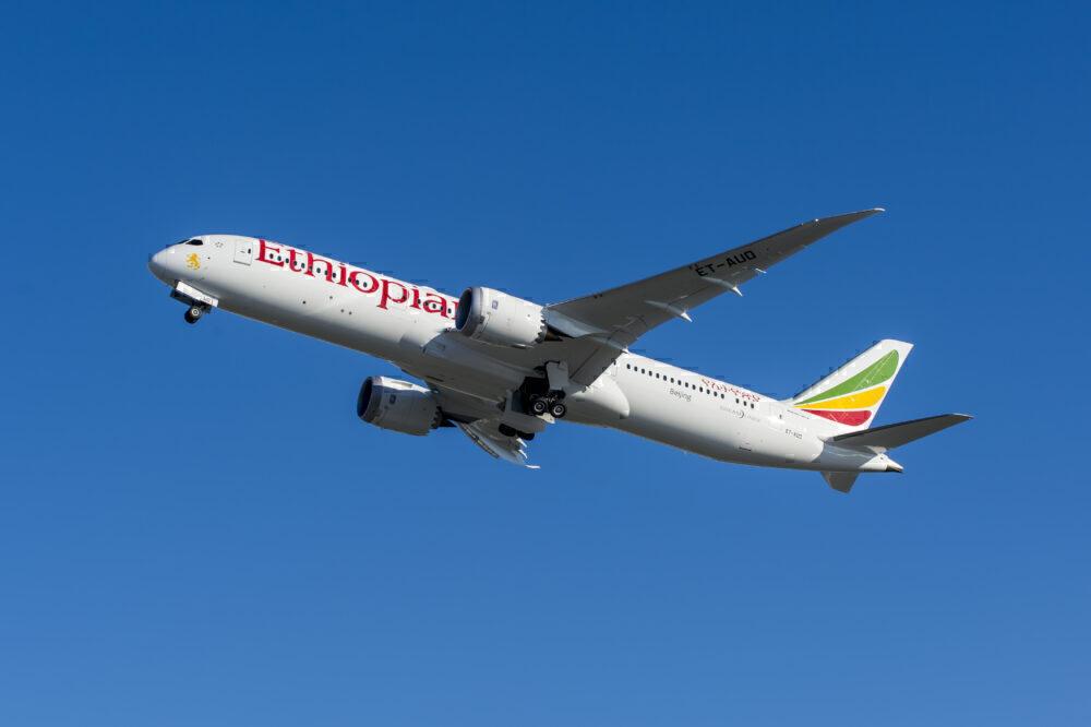 Ethipian Airlines plane