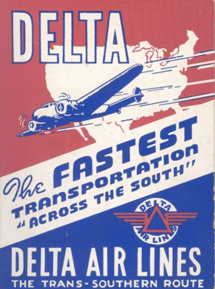 Delta Electra 10 Poster