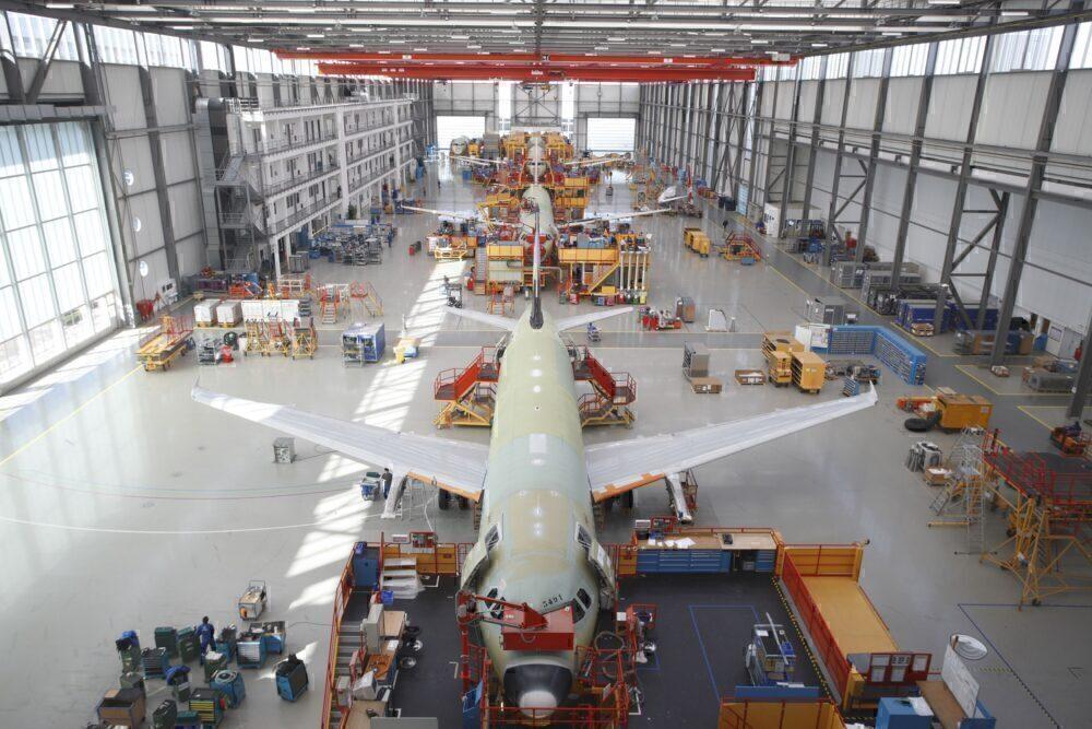 A320 construction