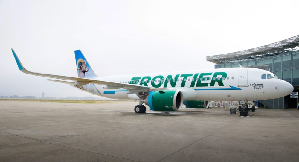 Airbus A320neo Frontier
