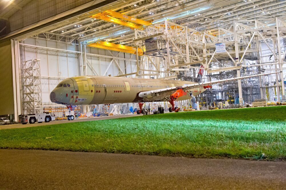 A350 XWB static test