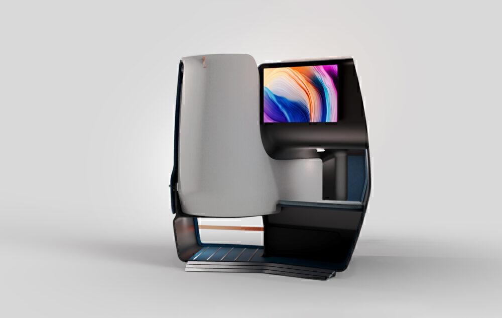 AIRTEK - Seatback detail