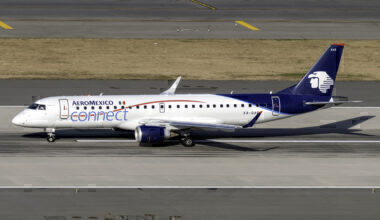 Aeromexico Connect Embraer