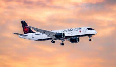 Air Canada Airbus A220-300 C-GJXE