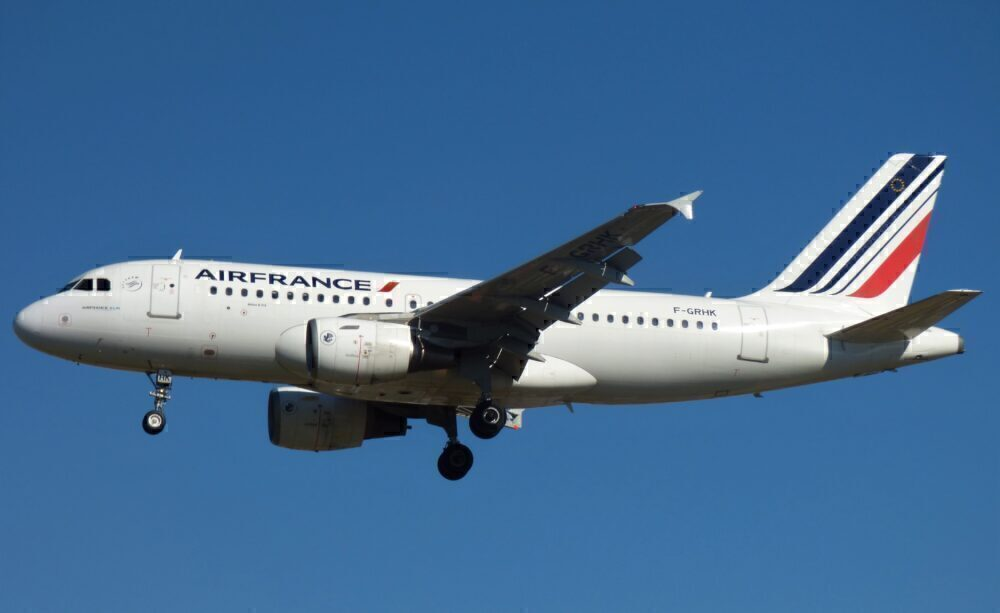 Air France Airbus A319 London Heathrow