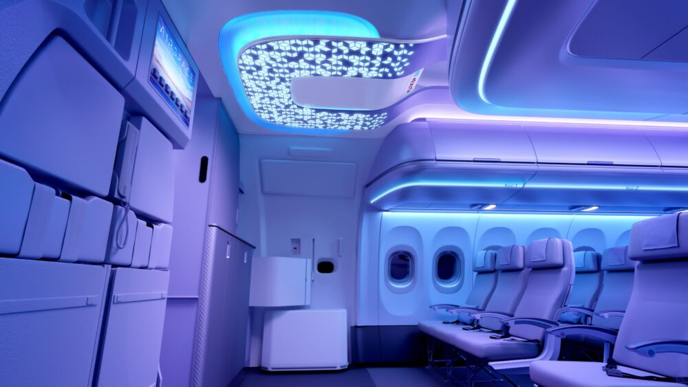 A320 Airspace cabin