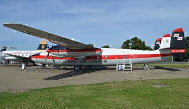 Dan Air Airspeed Ambassador