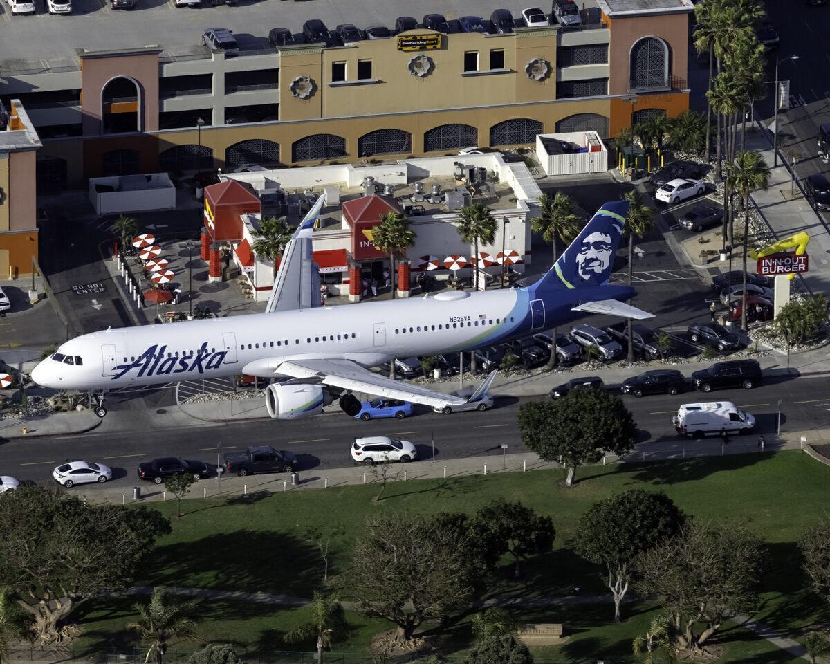 Alaska Airbus A321