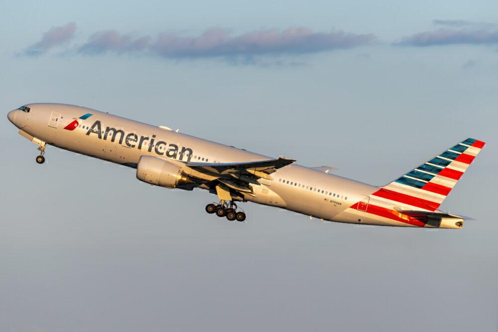 Boeing 777-200ER estadounidense