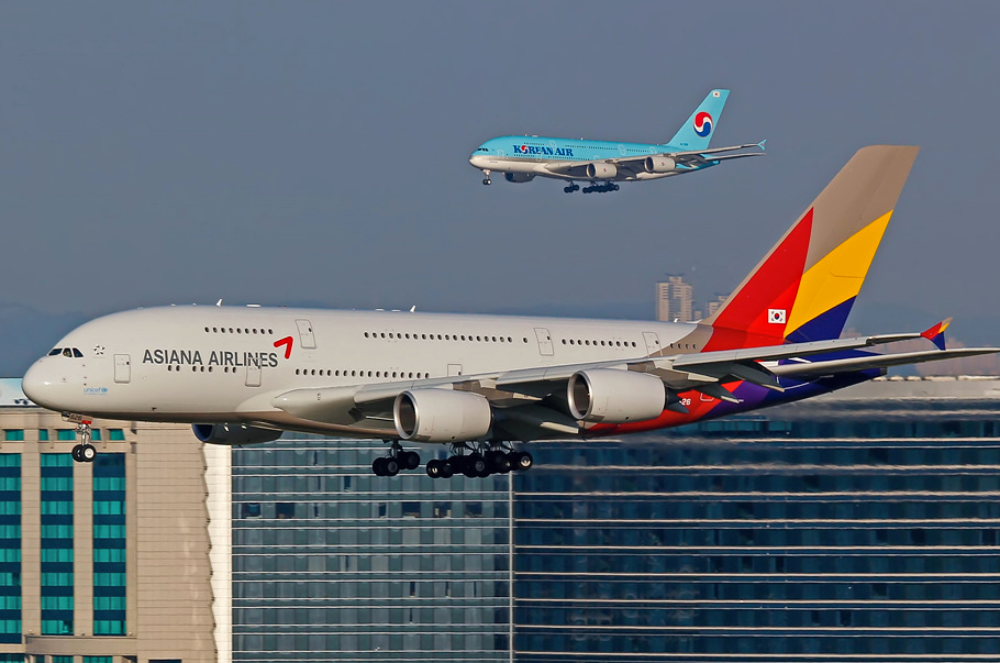 Korean-air-asiana-A380-fleet