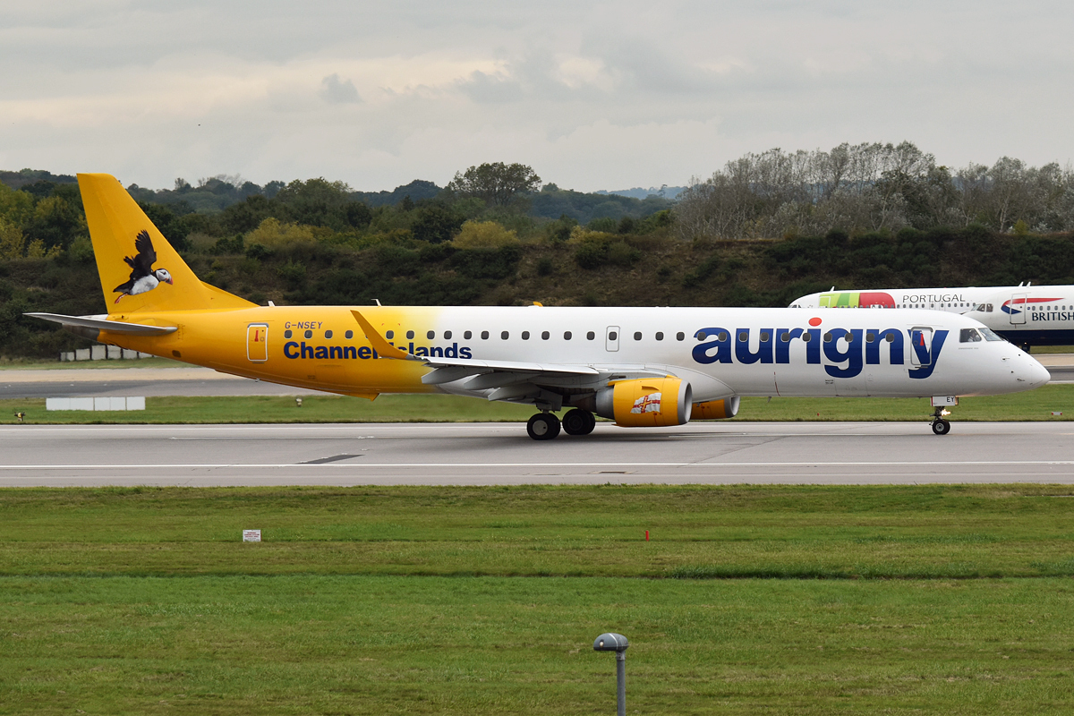 The History Of Guernsey's Airline Aurigny