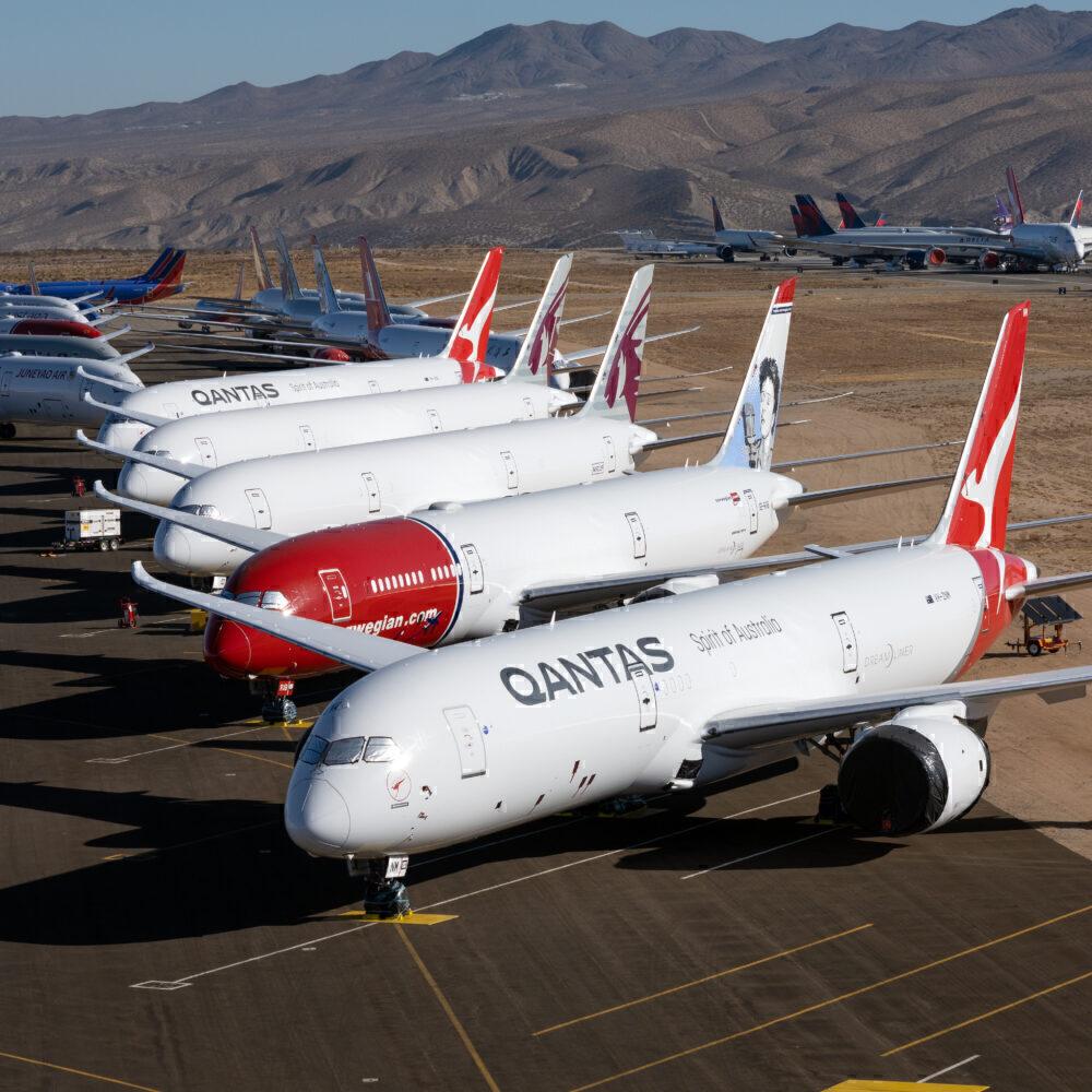 Boeing 787 Dreamliner Lineup
